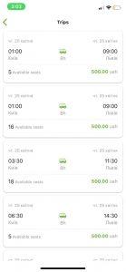 هزینه اتوبوس در اوکراین