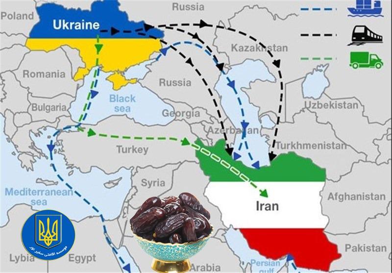 صادرات خرما به اوکراین