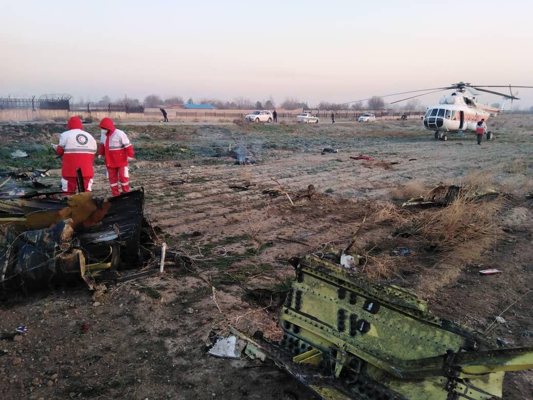 پیام تسلیت رئیسجمهوری اوکراین به خانوادههای قربانیان سقوط هواپیما