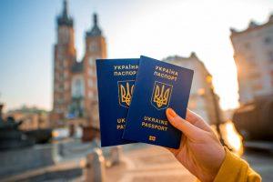 گذرنامه بیومتریک اوکراین